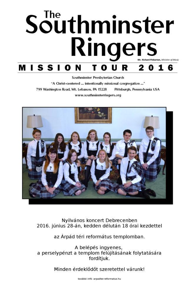 Ringer Mission Tour Poster -Debrecen